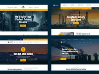 Facdori - Industrial & Factory Business PSD Template