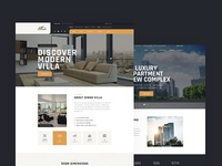 Dinso - Single Property & Apartment PSD Template