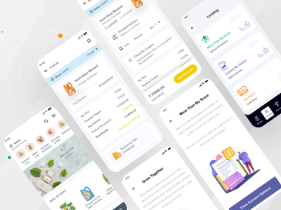 E commerce Delivery & Tracking App vector website web typography animation branding design landing app design delivery app