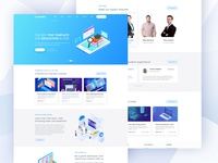 Madbrains Landing Page - Full preview
