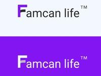 Famcan Life creative  logo