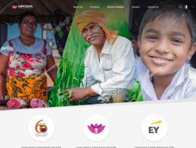 Sarvodaya Finance Website UI / UX