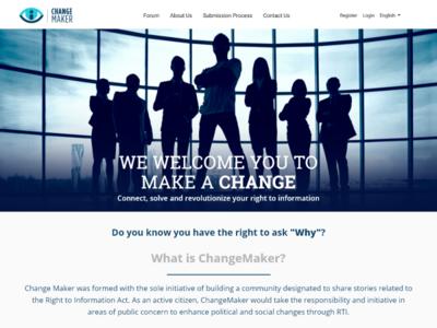 RTI Website UI / UX
