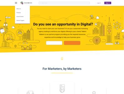 Momentro Website UI / UX