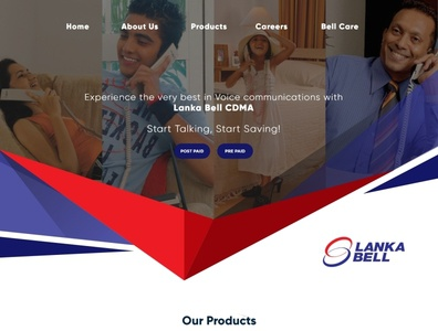 Lankabell Website revamp proposal