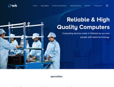 E-wis Website UI / UX