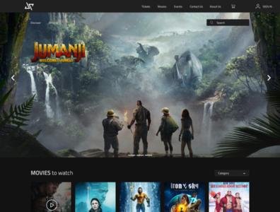 Online Movie Booking website UI /UX