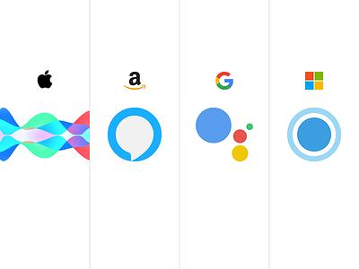 Virtual Assistants microsoft google amazon apple google assistant cortana alexa siri