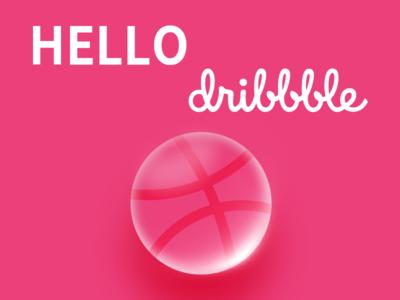 Hello Dribbble ! hello dribbble !