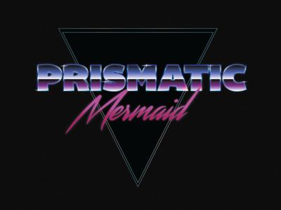 Prismatic Mermaid Logo - WIP