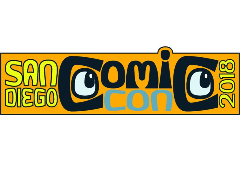 San Diego Comic Con 2018 Logo san diego comic con fun illustrator comics sdcc2018 nerds vector logo