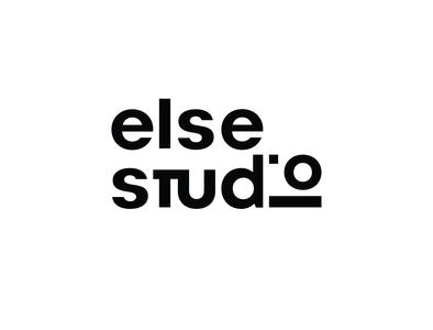 logo else studio minimal vector typography logo icon design branding