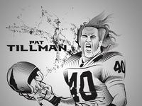 Pat tillman print