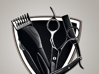 Barber shield