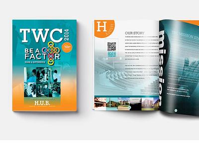 The Worship Center ads magazine design logo illustration design typography branding