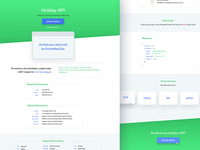 Holiday API Redesign