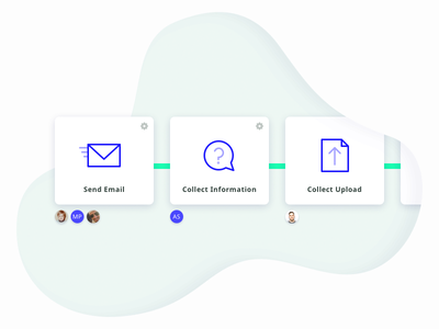 Crowdsync Features workflow feature landing page landing