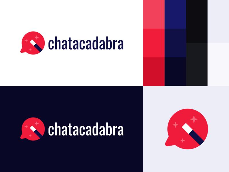 Chatacadabra Brand Board brand branding logo