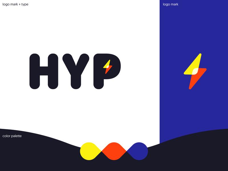 Hyp Branding Exploration type logotype logo brand identity branding brand