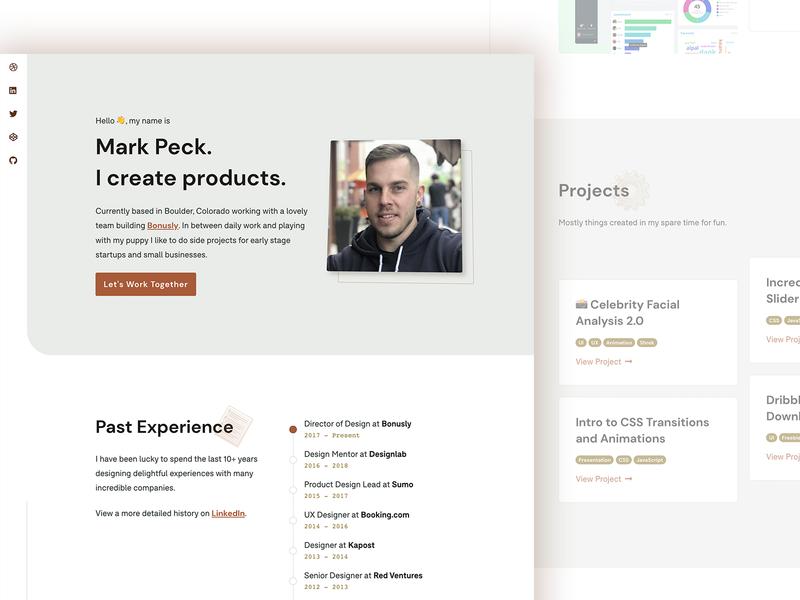 Updated Portfolio 2019 web product uiux ui landing portfolio