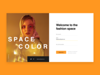 SPACE COLOR/Fashion Web
