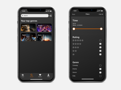 Movie app | Search & Filter