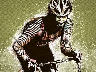 2014 Sagebrush CX Flyer cycling cyclocross illustration