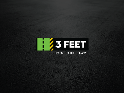 3 Feet Logo logo design illustration