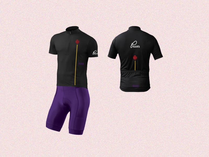 Pacos Cycling Kit branding bike apparel cycling design