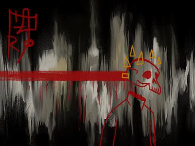 Head Bones 8 procreate illustration