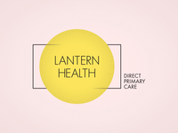 Lantern Health design logo branding