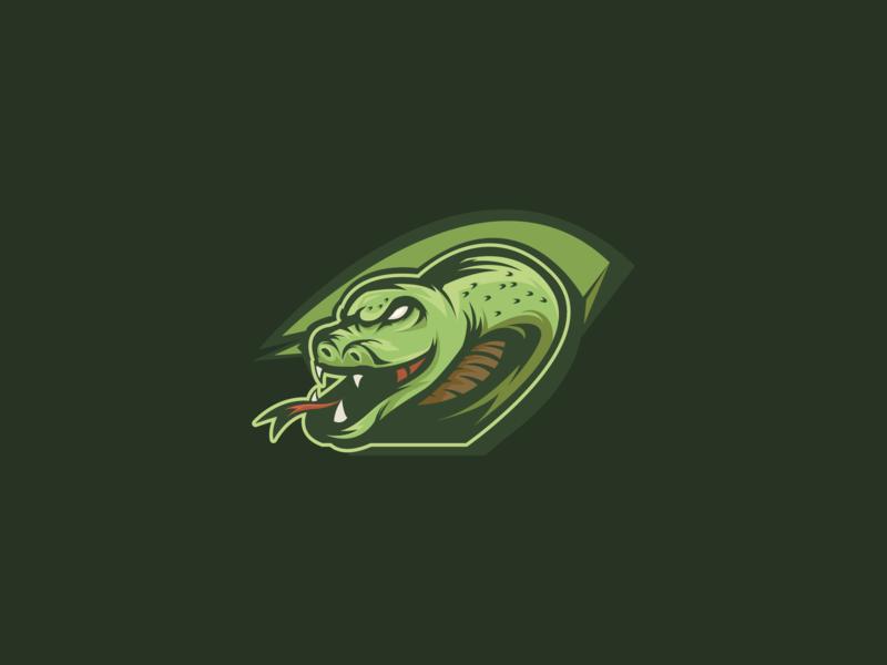 Snake Mascot Logo fresh illustration mascot esport lizard vipers sports logo esport logo mascot logo snake logo snake