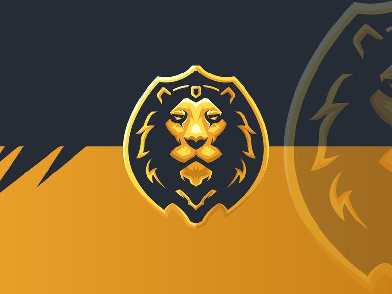 Lion Head luxurious logo lion logo mascot design mascot logo for sale gaminglogo esports logo sports logo logo esport logo esport mascot logo