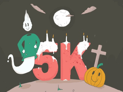 5k for the @mondayschallenge ! creativity adobe premiere halloween illustration aftereffects insta mondays challenge theme work art motion motionsdesigners motions community instagram 5k