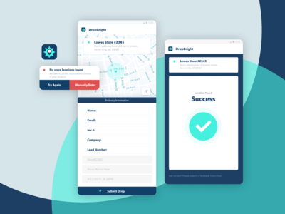 DropBright Delivery App
