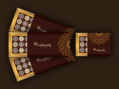Confectionately Yours confectionery box confectionery chocolate chocolate box package box box package design logo design package logo
