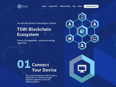 Tswi - Progress shot - 01 technologies technology infographics infographic ecosystem rewards mining crypto cryptocurrency iot blockchain