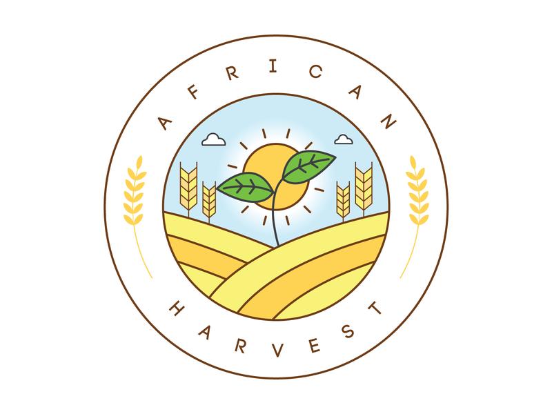African Harvest nature natural logo design logodesign organicdesign organic logodesigner brand branddesign monogram minimal clean logoinspiration logomark logotype