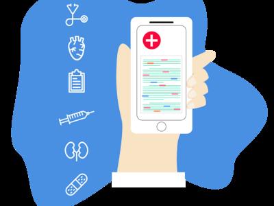 Medical Keyword Detection Illustration