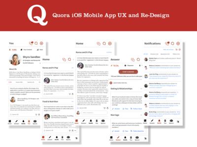 Quora Redesign Shots