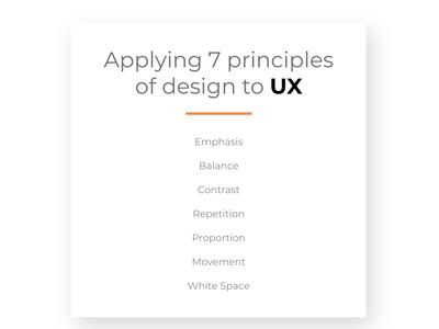 Quick Guide: 7 Principles of Design in UX Design