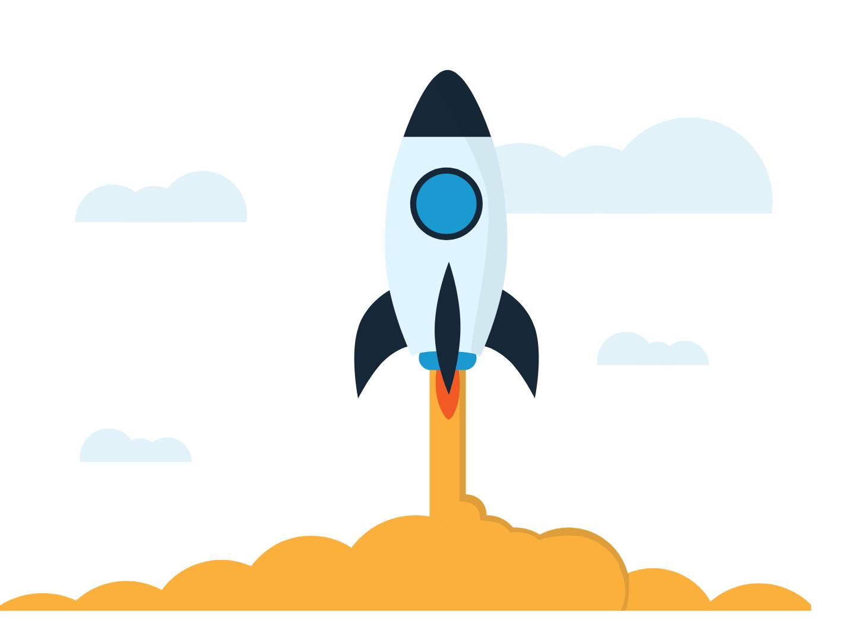 Propel your idea - An illustration for IDLNX design illustrator user experience vector minimal ux design web design illustration