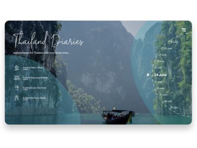 Thailand Diaries UI Shot