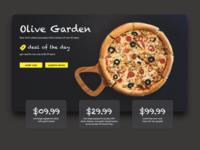 Olive Garden - UI Shot