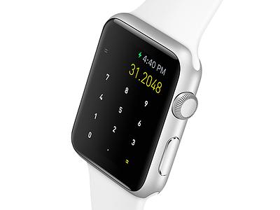 Rechner for AppleWatch applewatch watch app rechner calculator ios math