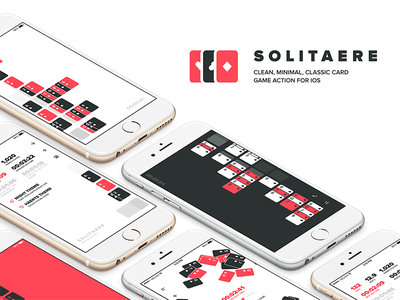 Solitaere 1.1 deck suits card game cards app game ios