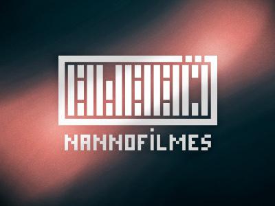 Nannö Filmes brand concept logo type studio design minimum