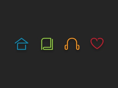 live learn listen love ico icon mrwilson brand ícone live learn listen love