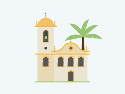 Paraty for Airbnb illustration graphic design airbnb