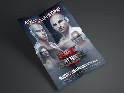 UFC Poster Study fight ufc poster